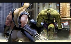 Marvel Comics, Hulk, Superman, Wolverine