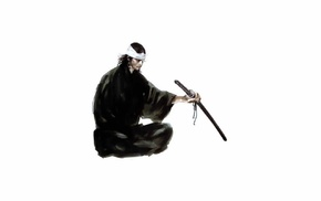 Miyamoto Musashi, manga, samurai, katana