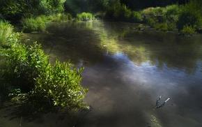 Adobe Photoshop, landscape, nature, water