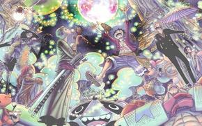 Roronoa Zoro, Monkey D. Luffy, Sanji, One Piece, Nami