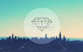 sky, diamond supply, city, diamonds, cityscape