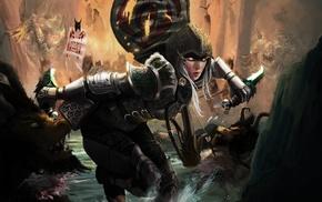 Demon Hunter, fantasy art