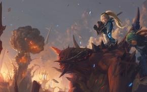 Murky, Diablo, nuclear, Nova, Nova Starcraft, heroes of the storm