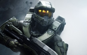 Master Chief, video games, weapon, Halo 5, Spartans, armor