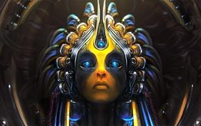 artificial intelligence, digital art, age of wonders 3, fantasy art, artwork