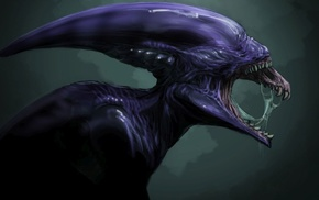 Xenomorph, Prometheus movie, artwork