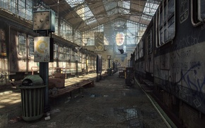 Half, Life 2, apocalyptic, video games, City 17, Unreal Engine 4