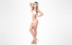 Katherin Aroca, high heels, girl, Katherine Aroca, blonde, model