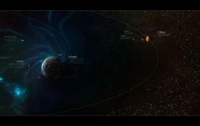 space, comet, Mars, Earth