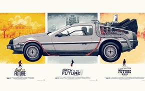 car, Back to the Future, DeLorean