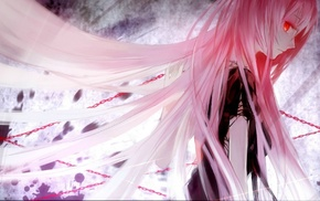 Megurine Luka, anime girls, pink hair, Vocaloid
