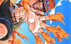 anime, Portgas D. Ace, One Piece