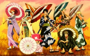 Tony Tony Chopper, Monkey D. Luffy, Nico Robin, anime, Sanji, One Piece