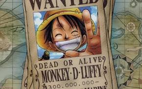 Monkey D. Luffy, anime, One Piece