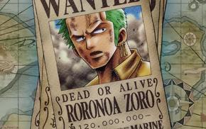 One Piece, anime, Roronoa Zoro