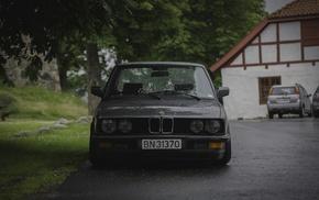 summer, Savethewheels, rain, Norway, static, BMW E28