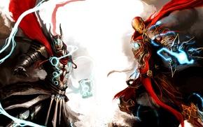 Thor, fantasy art