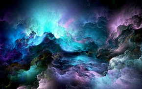 clouds, abstract, fractal