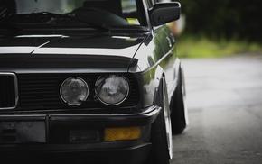 Problemsolver, car, BMW E28, Stanceworks, low, Stance