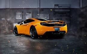 car, supercars, McLaren, McLaren MP4, 12C, effects
