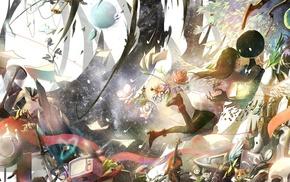 Deemo, manga, anime, Pixiv Fantasia, fantasy art