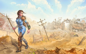 Fallout, video games, artwork