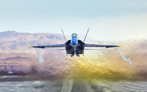 military aircraft, aircraft, jet fighter, McDonnell Douglas FA, 18 Hornet