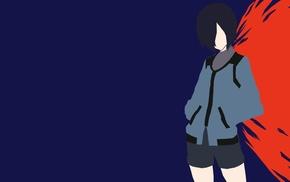 Kirishima Touka, Tokyo Ghoul, anime, anime girls, minimalism