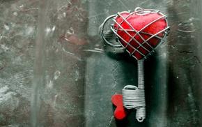 hearts, keys