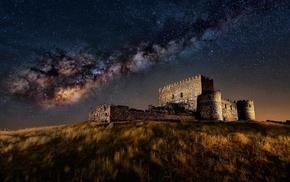 ruin, Csar Vega, Milky Way, long exposure