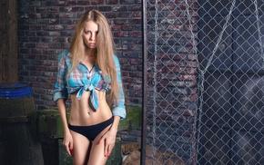 flat belly, skinny, blonde, model, bikini, girl