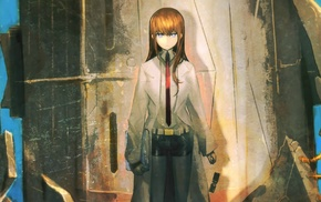 Makise Kurisu, SteinsGate, anime girls, anime