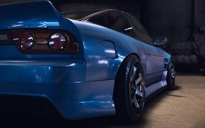 Nissan, car, video games, Liberty Walk, 180, racing