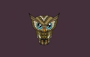 feathers, simple background, animals, minimalism, blue eyes, nature