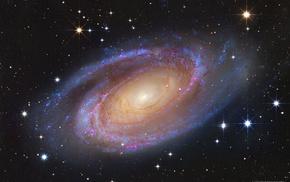 M81, astronomy, spiral galaxy, galaxy, space, universe