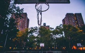 basketball, basketball court, hoop