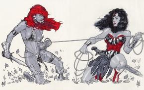 Adam Hughes, Wonder Woman, red sonja