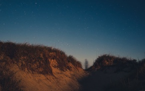 photography, ghosts, stars, dune