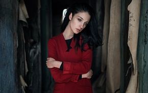 portrait, model, Alla Berger, girl