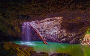 water, nature, cave