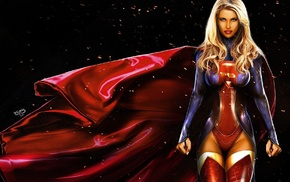 DC Comics, artwork, Supergirl, comics