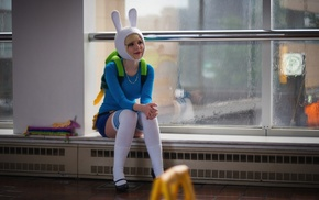 cosplay, nerds, girl, Adventure Time, Fionna the Human
