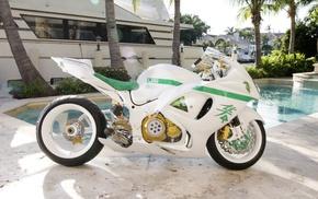 Suzuki, motorcycle, Suzuki GSX1300R Hayabusa