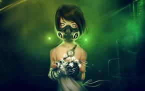 cyberpunk, futuristic, mask