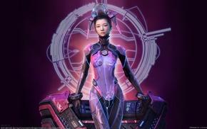 cyberpunk, seok chan yoo, futuristic