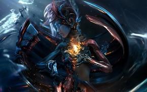 cyberpunk, futuristic