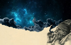 surreal, space