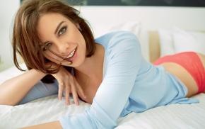 Lauren Cohan, brunette, girl, actress, celebrity