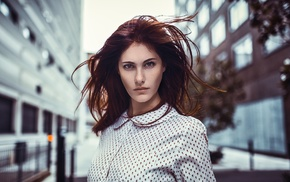 portrait, model, girl, face