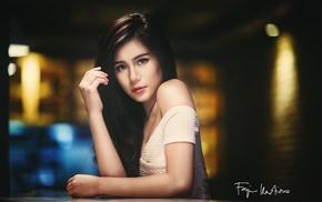 face, model, Asian, girl, portrait